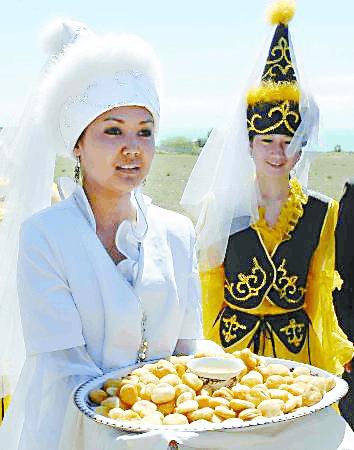 吉尔吉斯斯坦美食 甜死或咸晕