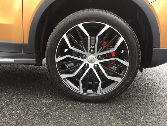 2017上海车展探馆:森雅R7 1.5T车型曝光