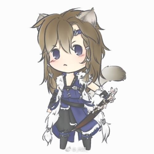 剑网3玩家手绘分享 当正太变成宠物小可爱