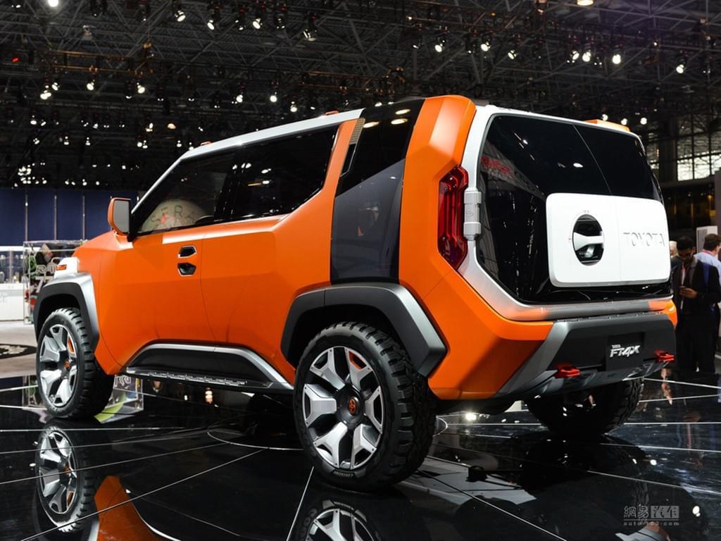"""小型的""""酷路泽"""" 丰田将推全新小型SUV"""