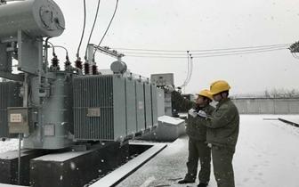 应对低温雨雪 咸宁供电公司专业特巡保供电