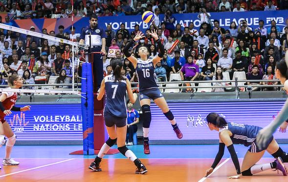 世联赛-中国女排负波兰 遭遇两连败