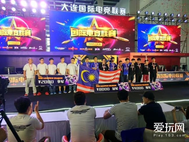 现场还举办了《反恐行动》的电竞赛事,最终由马来西亚的战队夺冠