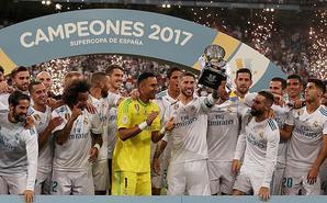 西班牙超级杯:皇马总分5-1巴萨夺冠