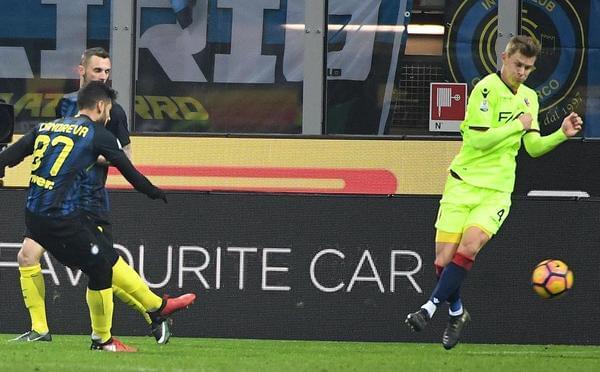意大利杯-坎德雷瓦加时绝杀 国米3-2晋级8强