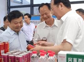 省委副书记、广州市委书记任学锋到揭西县调研