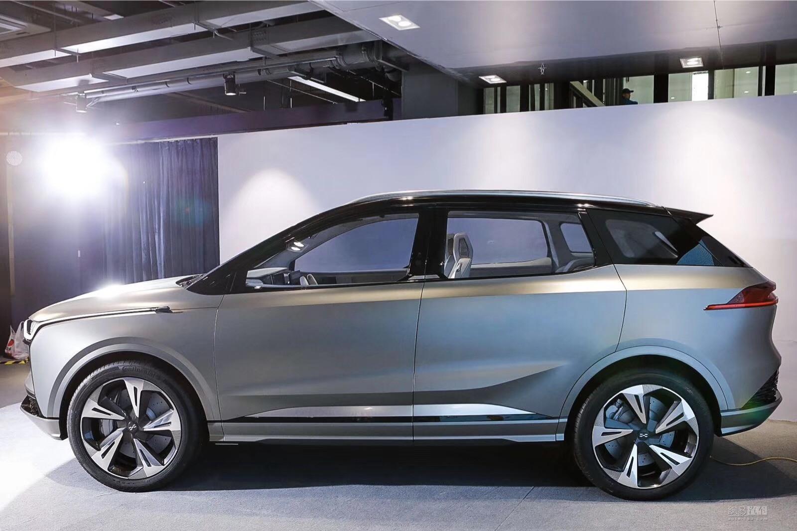 爱驰首款产品U5 ION亮相 预计在2019年上市