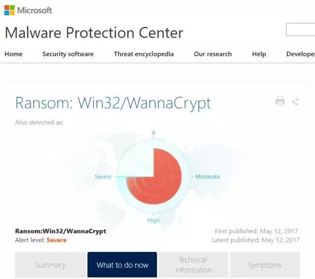 微软回应大规模勒索软件攻击事件:加强检测保护