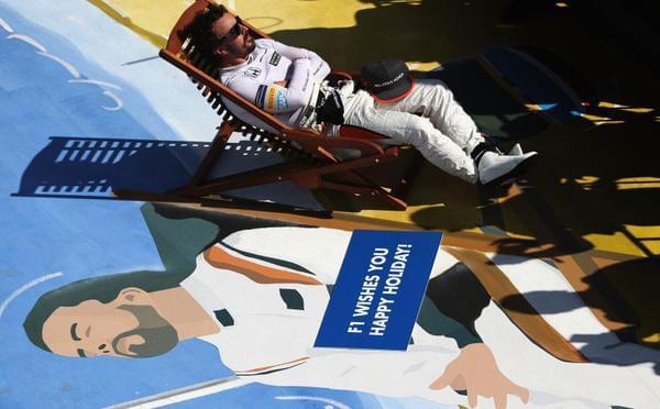 F1匈牙利阿隆索第7也当主角 收最搞笑寿礼