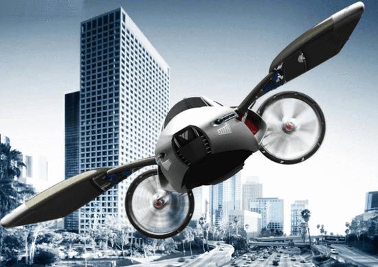 不仅仅是富人玩具 10年后飞行汽车将成公共交通?