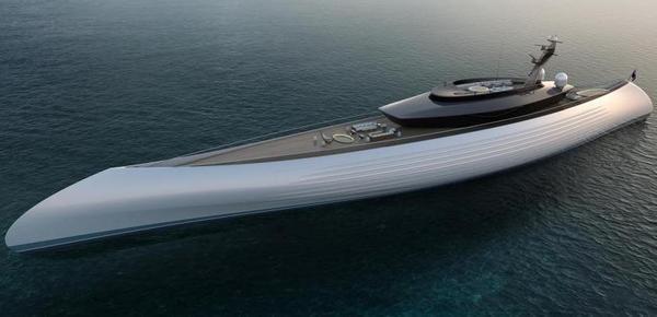 荷兰设计超级豪华游艇 外形复古酷似独木舟