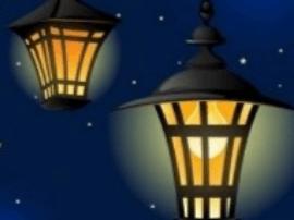 三尺小道连民心 数盏明灯亮乡村