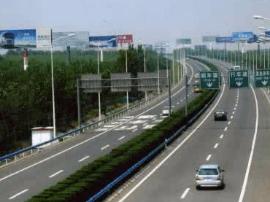 因施工 8日7.30耿镇收费站对去忻州方向车分流