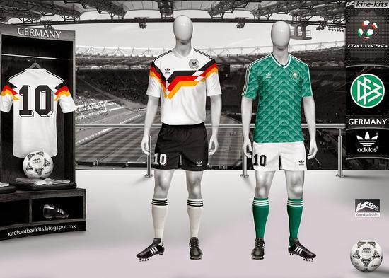 德国队客场球衣曝光 官方CP居然是穆勒克罗斯