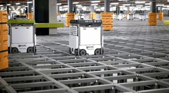 """电商如何抢占""""双十一""""?试试自动化仓库机器人"""