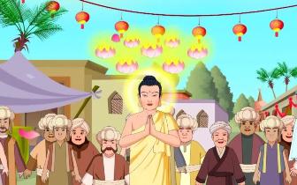 佛教智慧故事:【善慧童子授记成佛】