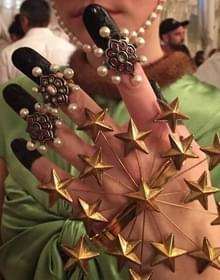 Gucci18年早春秀场珠宝 玩的有点疯