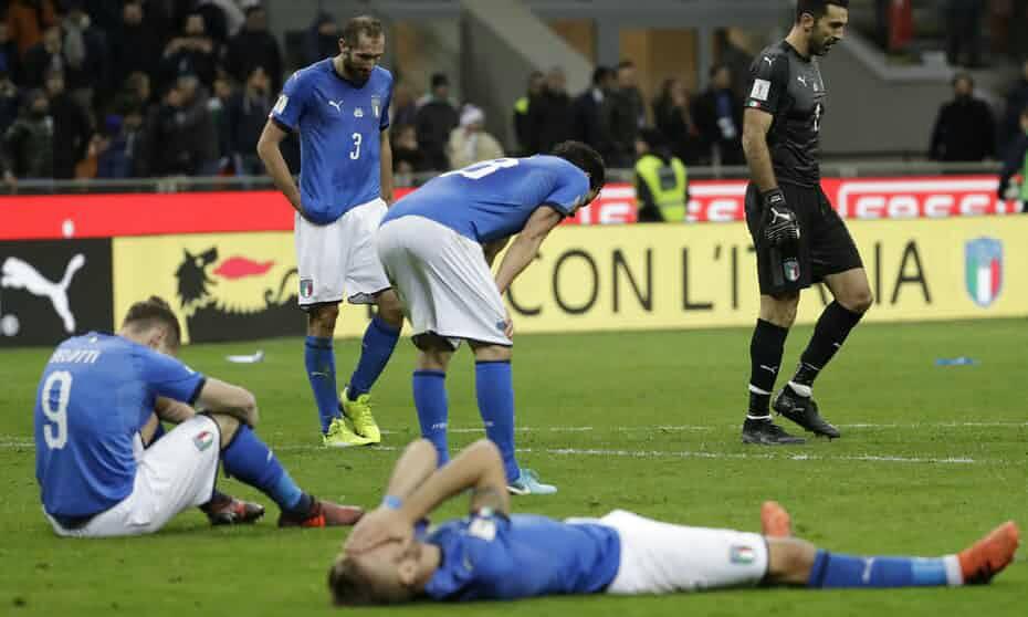 60年!四星意大利再缺席世界杯 上次东道主正是瑞典