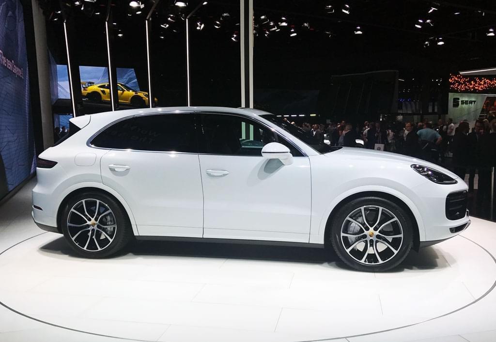 4.0T双涡轮V8 全新卡宴Turbo车展发布