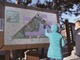 """南湖公园成为 长春首个""""智慧步道""""试点公园"""