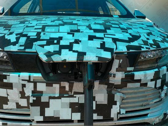 纯电动跨界SUV 长城欧拉EV谍照曝光