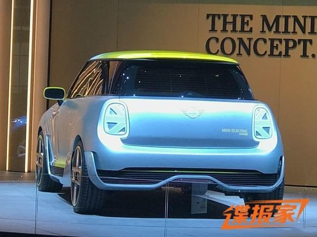 2017法兰克福车展探馆:MINI Electric概念车