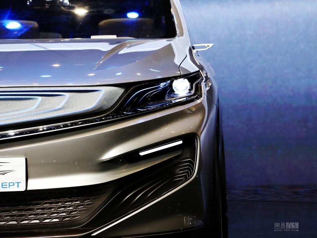 2017上海车展:吉利全新MPV概念车