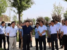 运城市水务局局长靳虎刚调研河长制推进工作