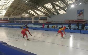 双首次!省运会青少年组速度滑冰比赛开赛