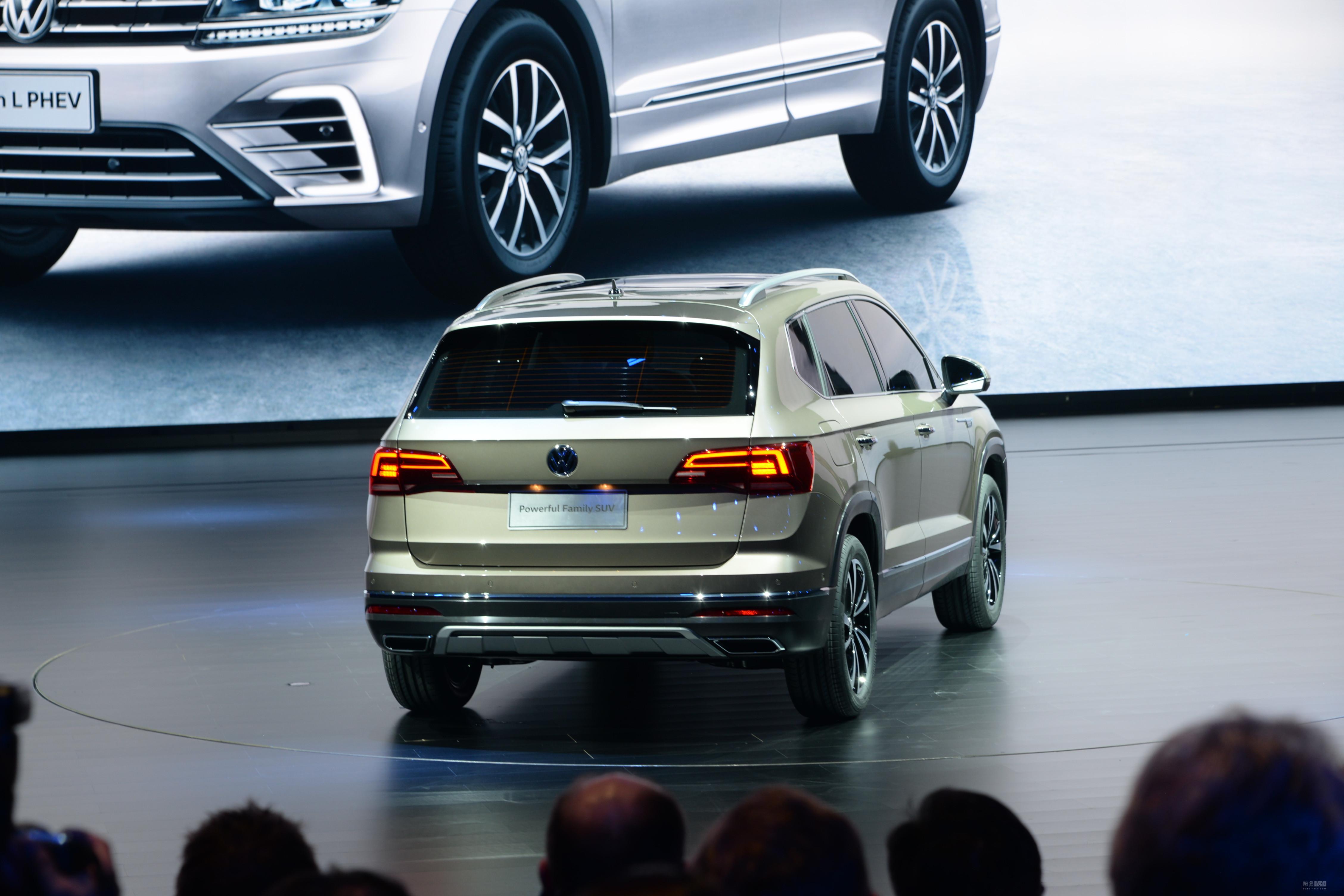 小途昂 上汽大众全新紧凑级SUV正式发布
