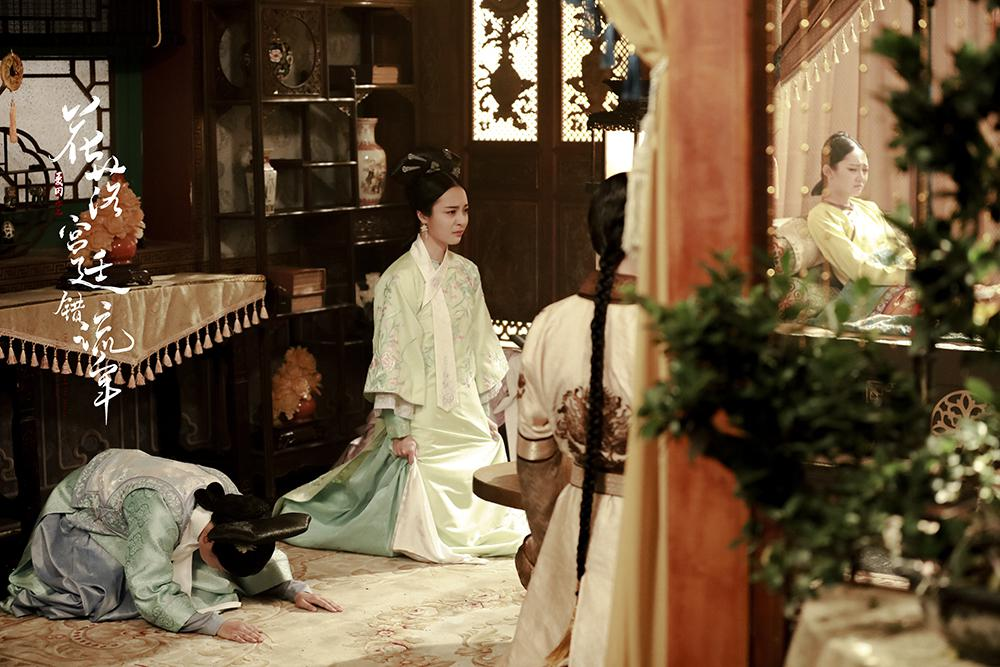 李莎旻子遭遇塑料姐妹花 主演清宫剧热播破7亿