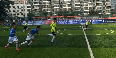 """石家庄市第二届""""市长杯""""青少年足球比赛正式启动"""