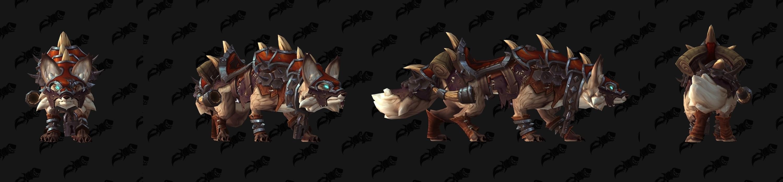 魔兽7.3版本新PVP奖励坐骑预览——邪恶战狐