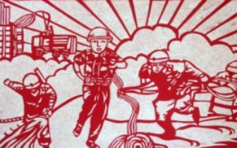 三门峡市儿童消防绘画作文作品大赛初评结束