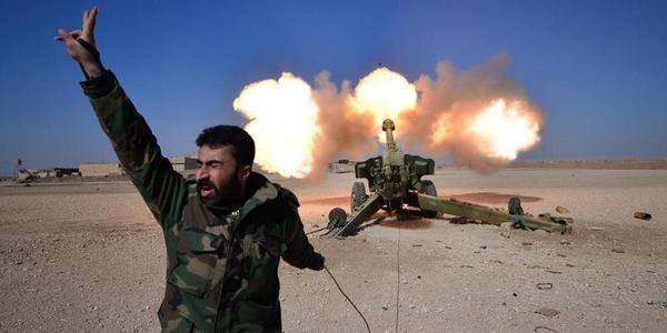 摩苏尔战役进入最后阶段 重炮武器持续猛轰