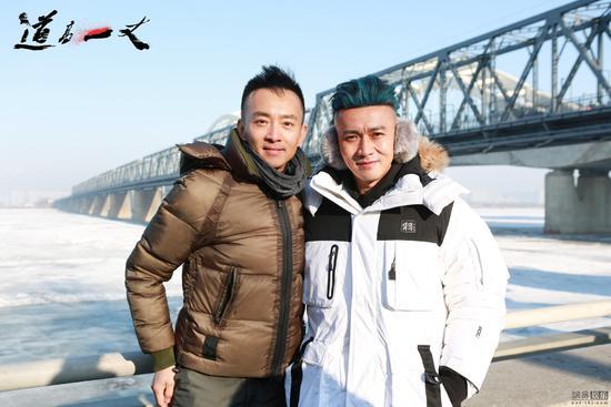 《道高一丈》开机 在哈尔滨标志性建筑老铁路桥开拍首场戏份