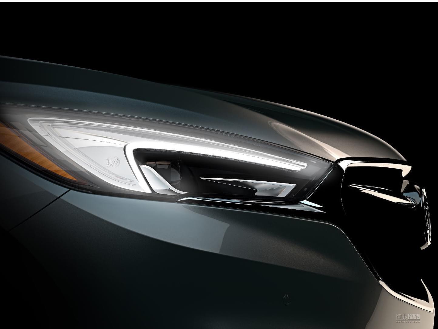 2.0T的全尺寸SUV? 全新昂科雷预览图发布