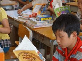 中北大学举办 募书活动 大学生把书送山区孩子