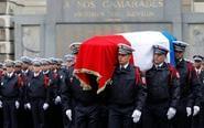 法国悼念香街枪击遇难警察