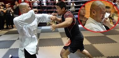 太极拳不堪一击?拳师惨遭搏击选手5秒KO