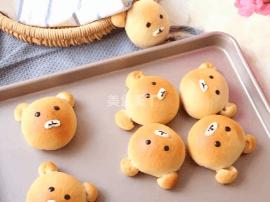 卡通造型 再看就把你吃掉—轻松熊小面包 | 烘焙课堂
