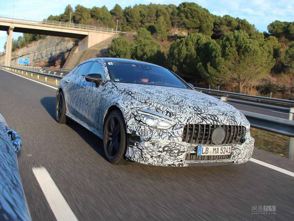 四门超跑? AMG GT Coupe预览图发布