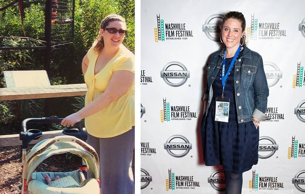 女子靠跑步减肥91斤 建公司鼓励更多人