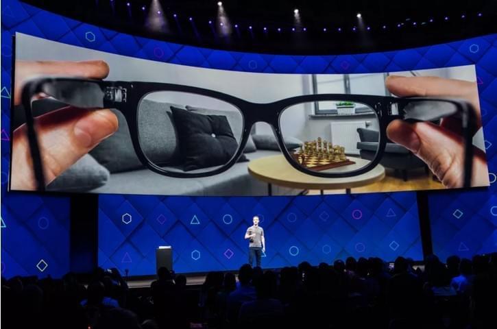 Facebook也要做AR眼镜了,不过上市还要等几年