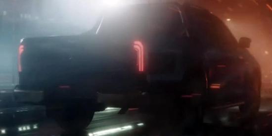 怪兽要来了 奔驰X-Class皮卡预告片发布