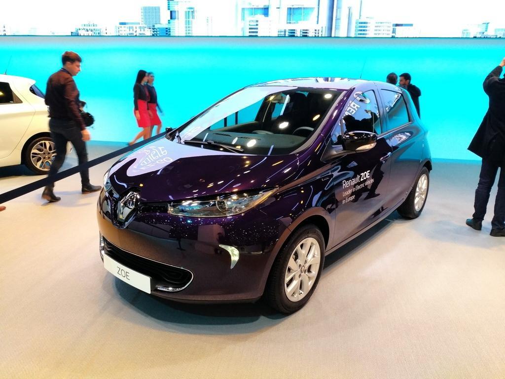 国产计划车型? 雷诺ZOE R110电动车发布