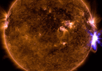 太阳爆发史上最密集耀斑 地球通信或将受到干扰