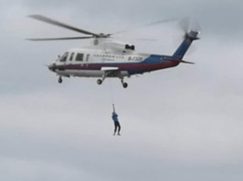 27名游客被困平潭大萝屿 省海上搜救中心成功救助