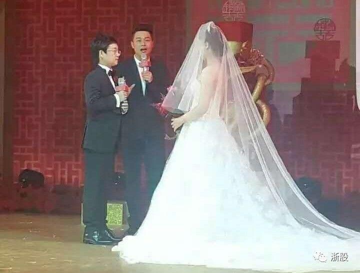 富二代奢华婚礼:郭广昌夫妇主婚 张信哲献唱