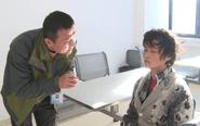 泰州救助站接收一女子 身份不明难以交流